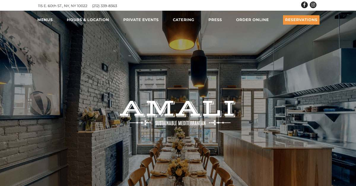 Yes The 10 Best Restaurant Website Designs Of 2019
