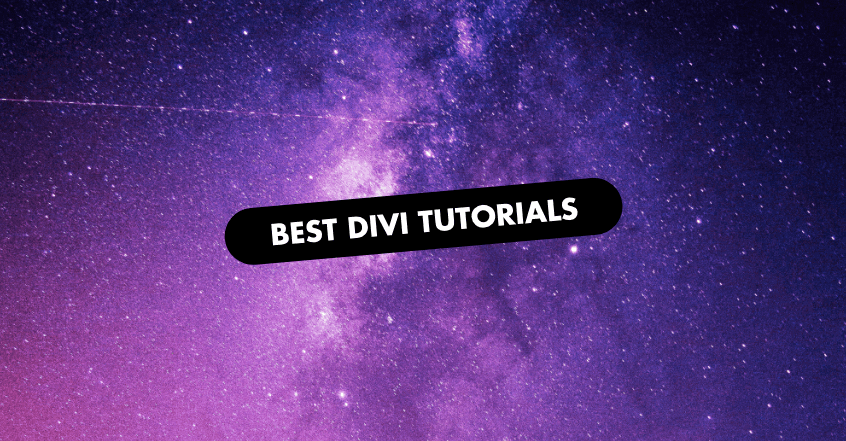 The 4 Best Divi Tutorials of 2019
