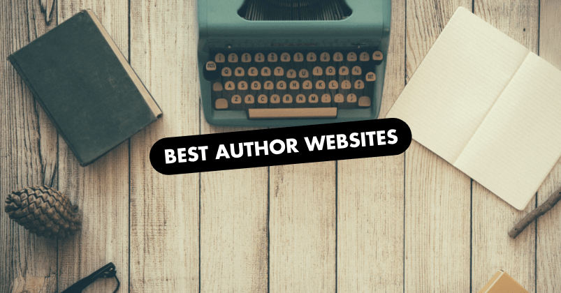 Author Websites Design Examples