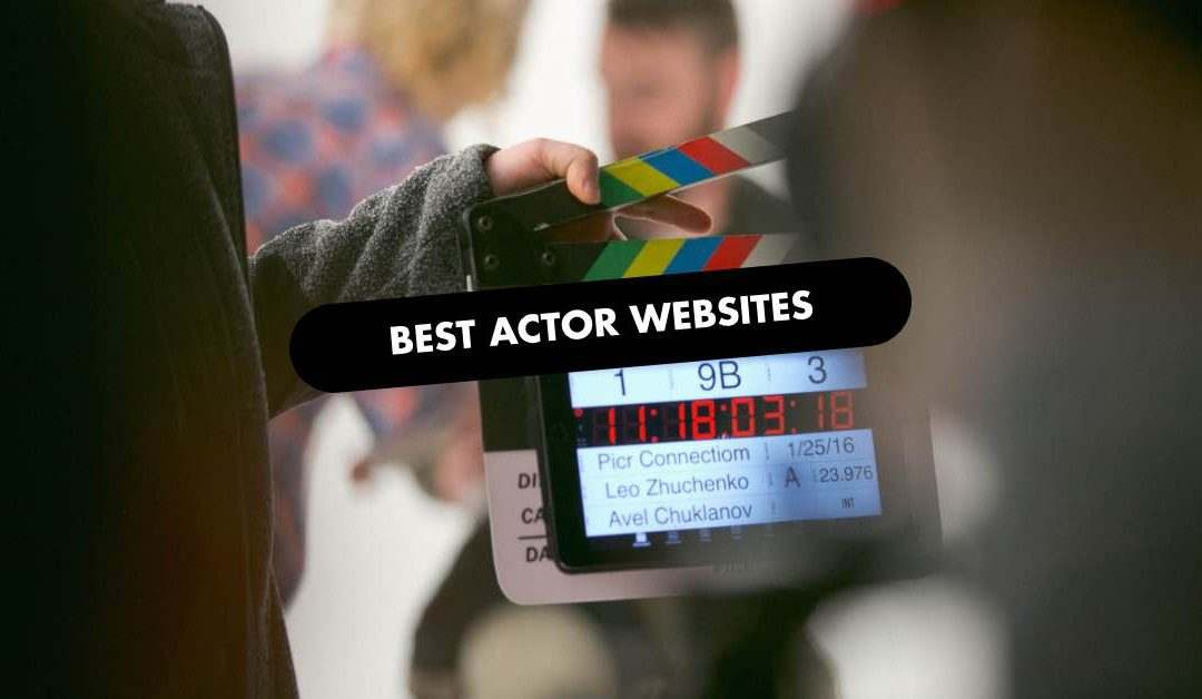 Best Actor Website Design