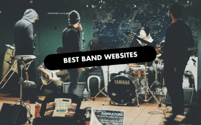 The 10 Best Band Website Design of 2020