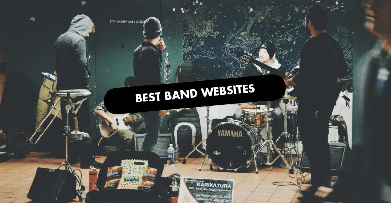 Best Band Website Design