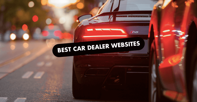The 10 Best Car Dealer Website Designs of 2019