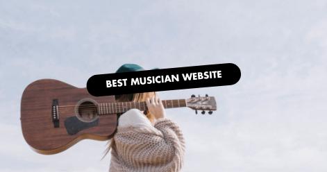 The 10 Best Musician Website Designs of 2019