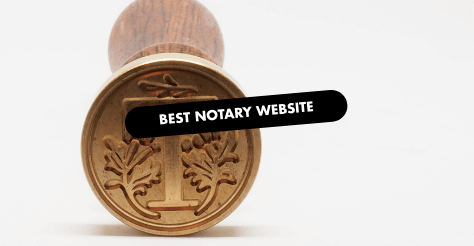 Best Notary Website Design