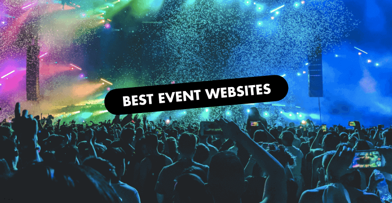 The 10 Best Event Website Designs of 2019