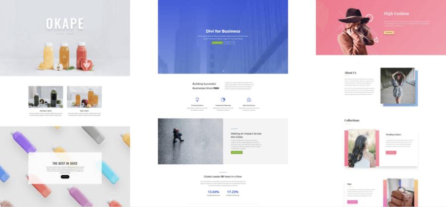 Website Theme Examples