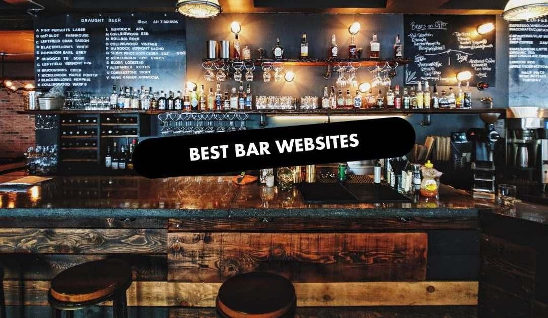 Best Bar Website Design
