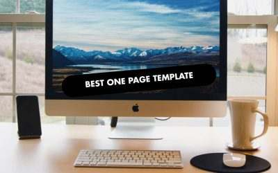 The 20 Best One Page Templates of 2020