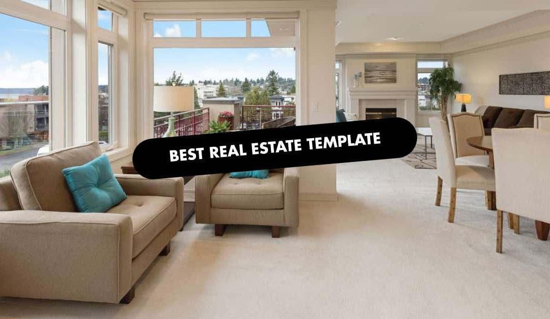 BEST REAL ESTATE TEMPLATE