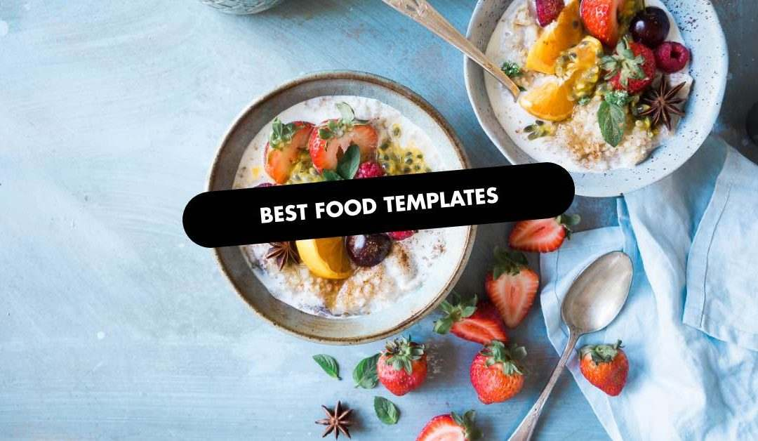 Best Food Website Template