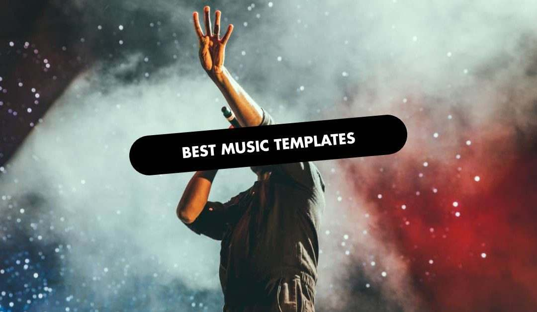 Best Music Website Template
