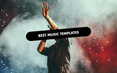 The 20 Best Music Website Templates of 2020