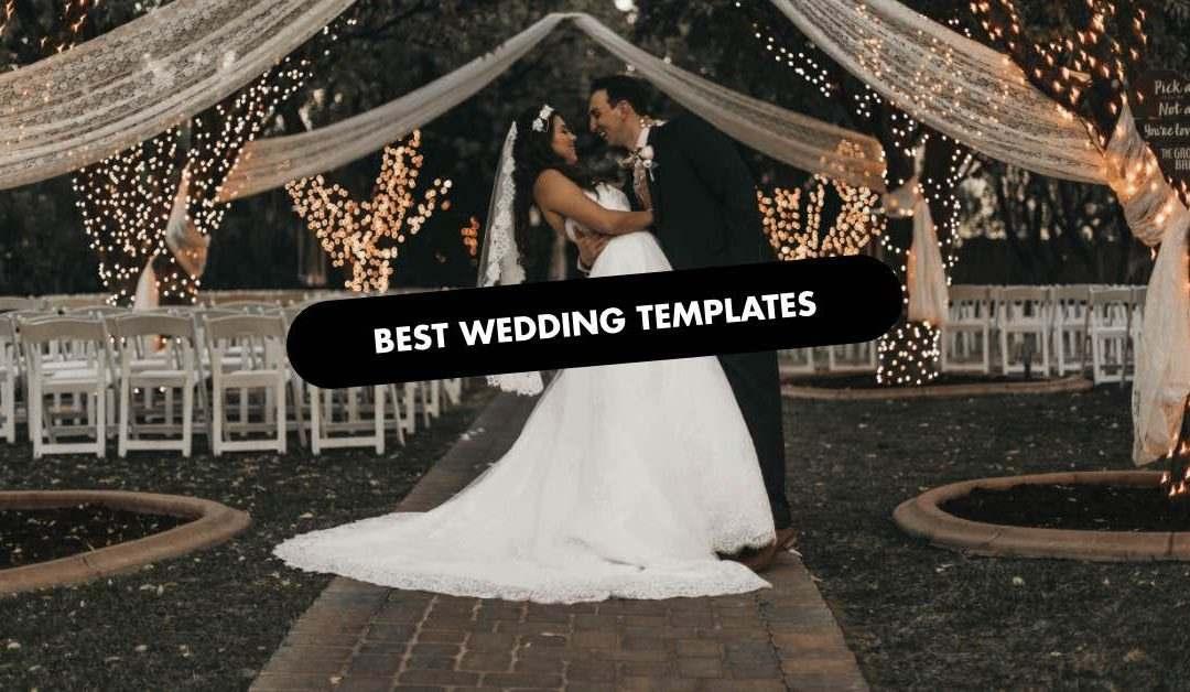 Best Wedding Website Template