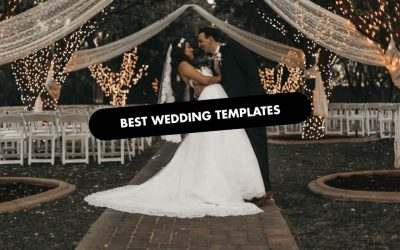 The 20 Best Wedding Website Templates of 2020