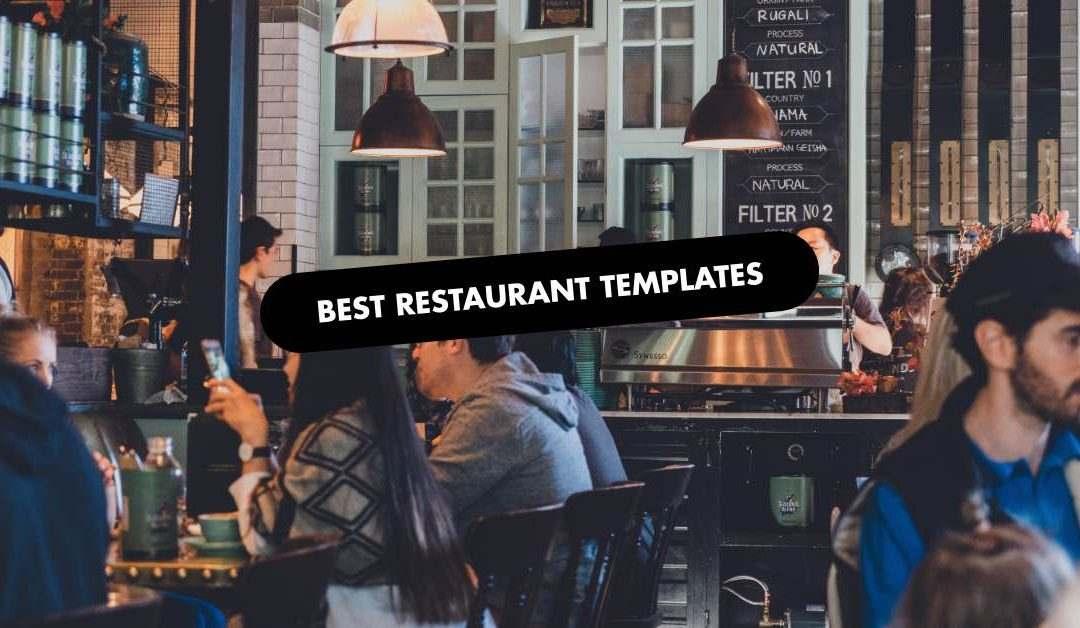 Best restaurant Website Template