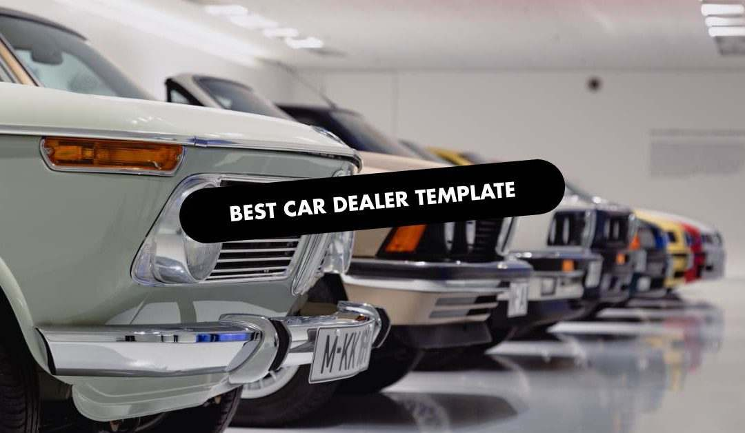 The 20 Best Car Dealer Website Templates of 2020