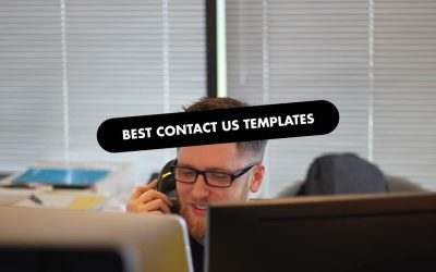 The 20 Best Contact Us Templates of 2020