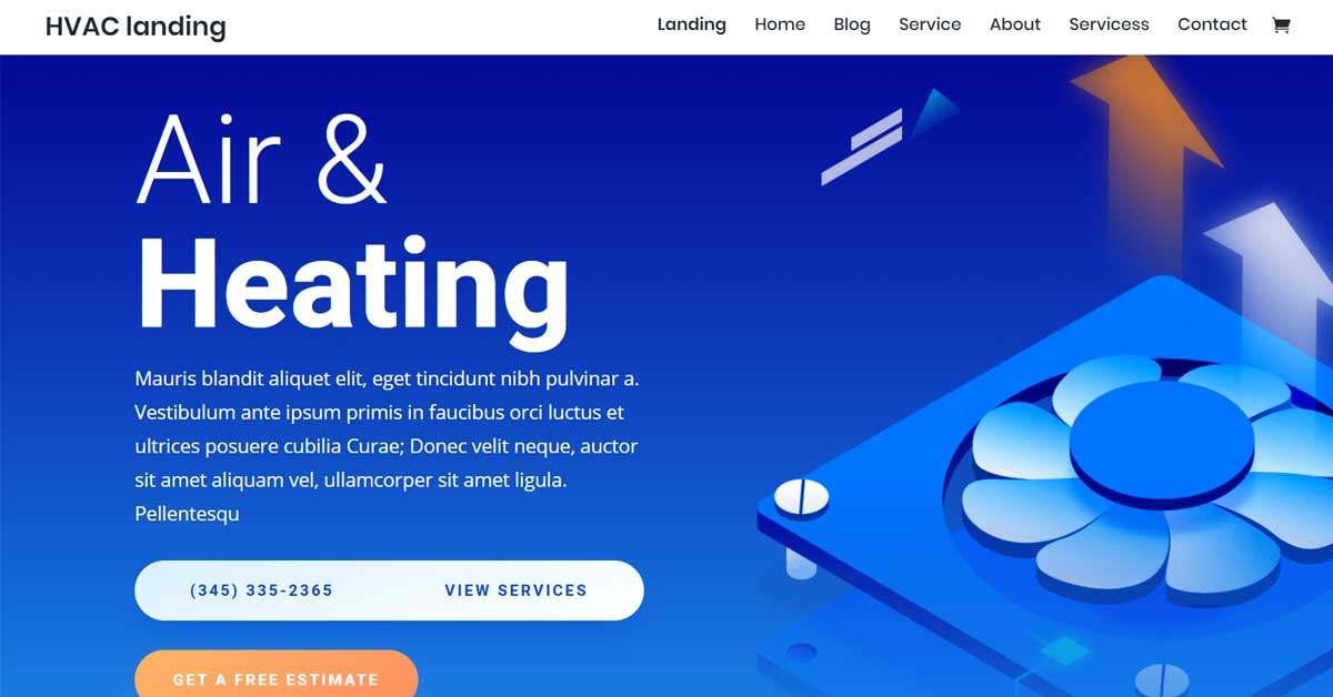 Software Website Template