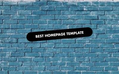 The 20 Best Homepage Templates of 2020