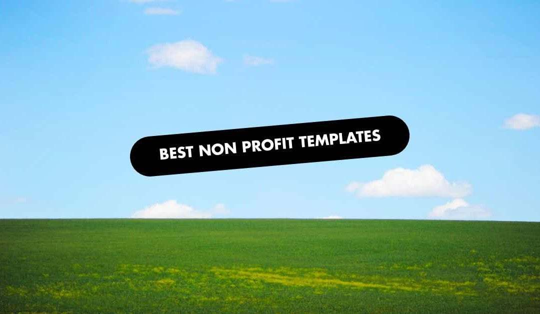 Non Profit Website Template