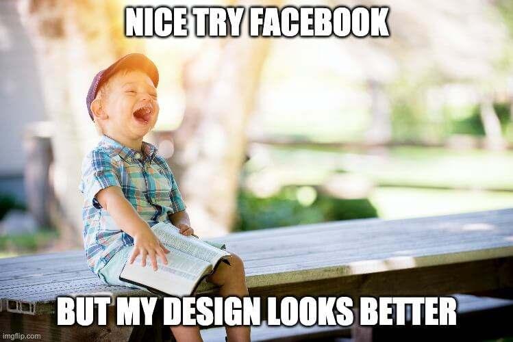 more web design clients meme
