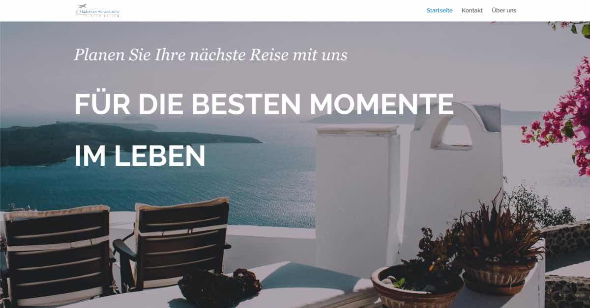 Divi Elegant Startup Website Example