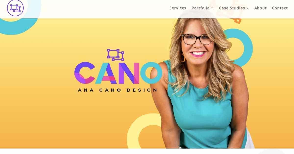 Ana Cano Web Design Resume Example