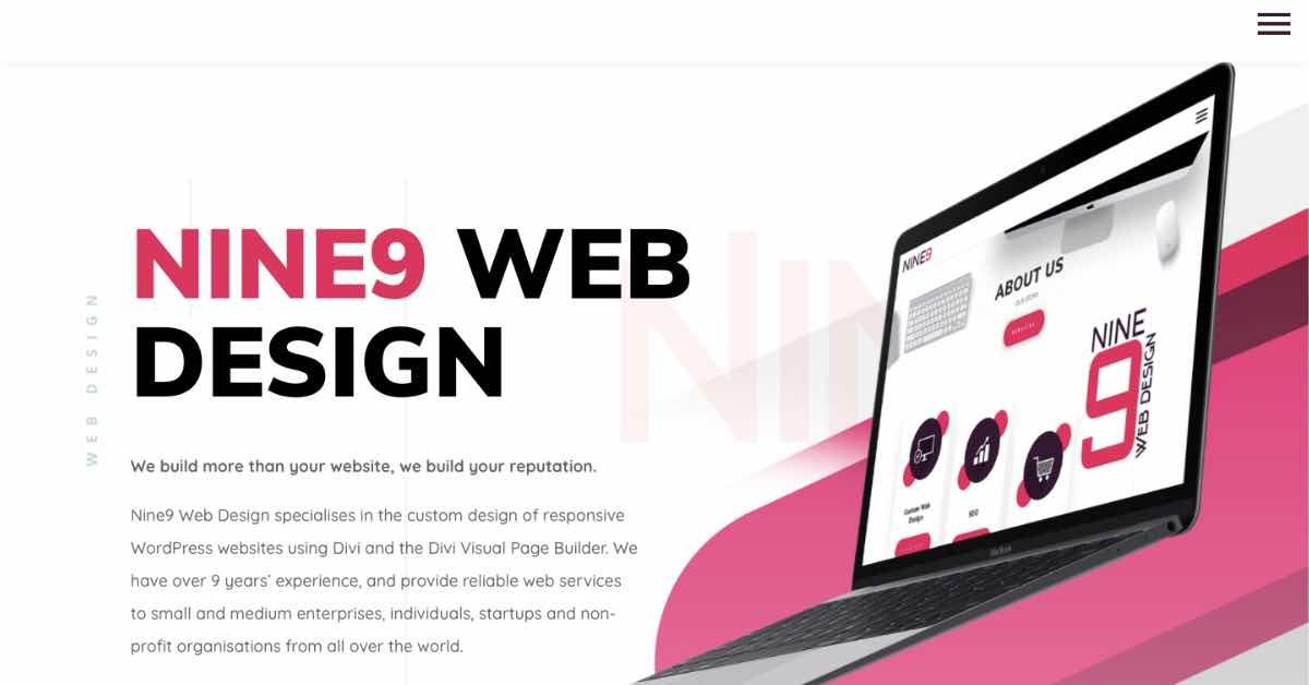Nine 9 Web Design Resume Example