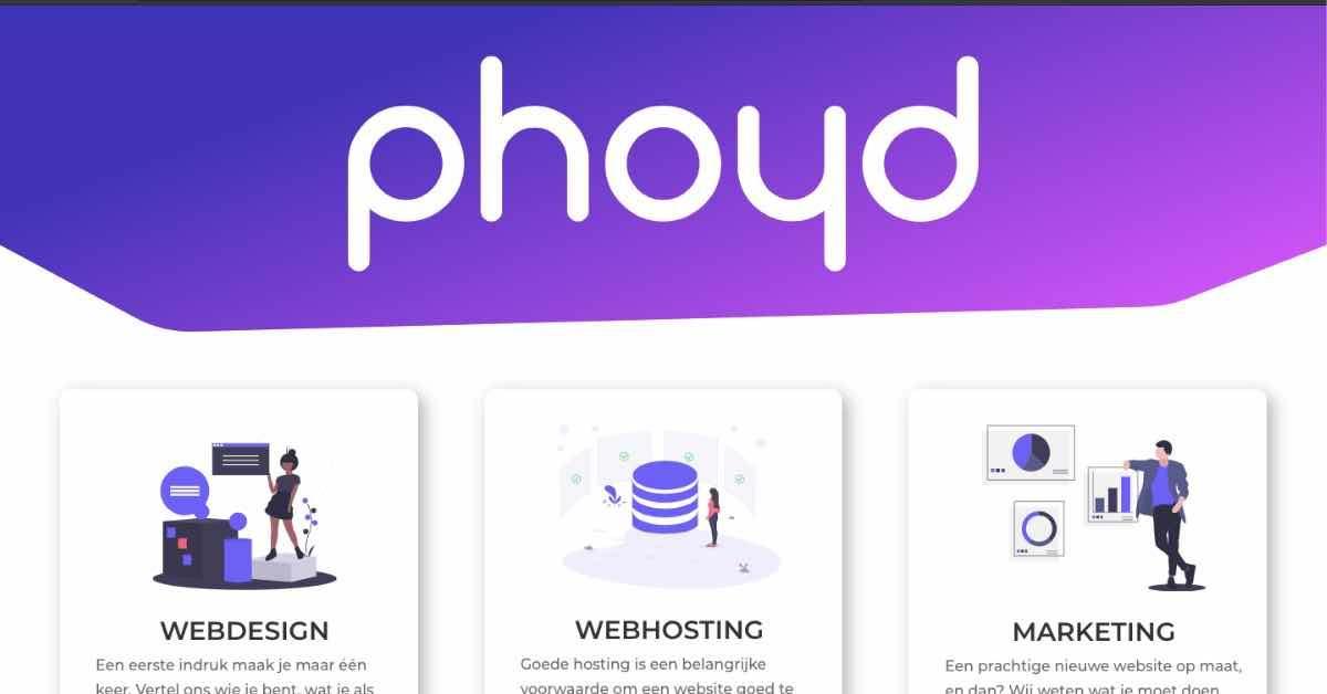 Phoyd Web Design Resume Example