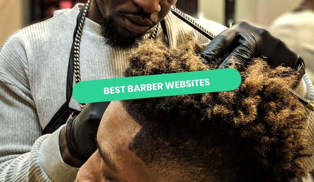 Barber Website Examples