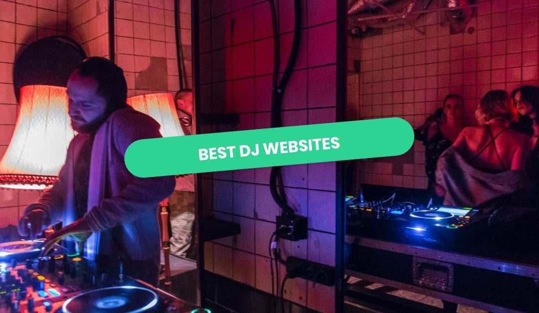 DJ Website Examples