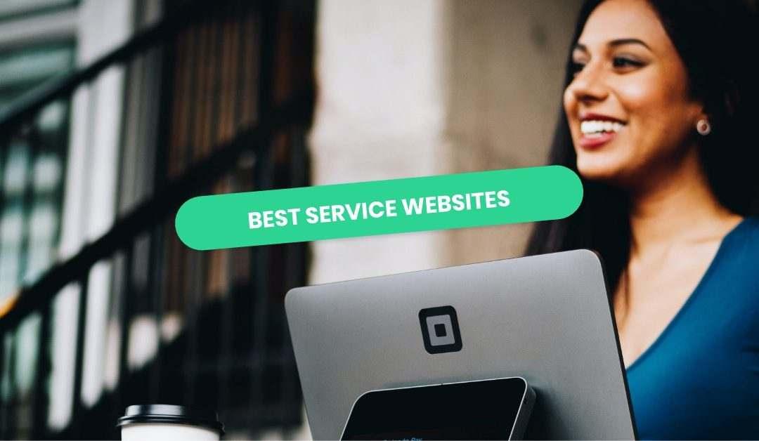 Service Website Examples